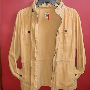 Old Navy Gold Summer Utility Jacket